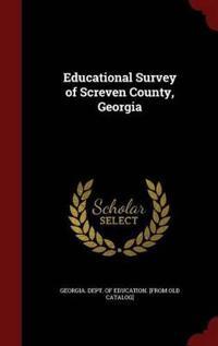 Educational Survey of Screven County, Georgia