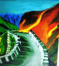 Paintings Of Travels To Bhutan