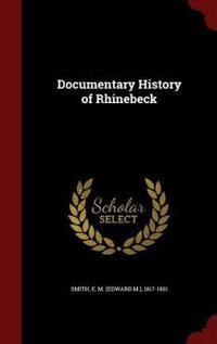 Documentary History of Rhinebeck