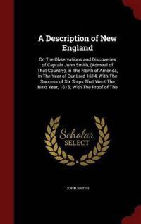 A Description of New England