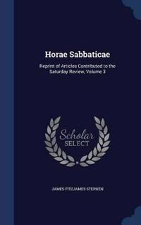 Horae Sabbaticae
