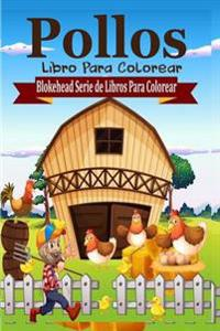 Pollos Libro Para Colorear