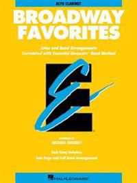 Essential Elements Broadway Favorites: Eb Alto Clarinet