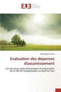 Evaluation Des Depenses D'Assainissement
