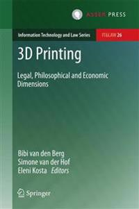 3D Printing: Legal, Philosophical and Economic Dimensions