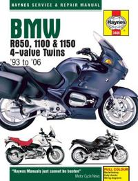 Haynes Bmw R850, 1100 & 1150 4-valve Twins '93 to '06 Repair Manual