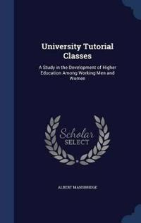 University Tutorial Classes