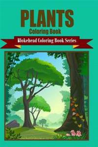 Plants Coloring Book