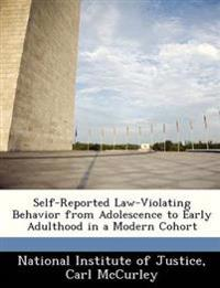 Self-Reported Law-Violating Behavior from Adolescence to Early Adulthood in a Modern Cohort