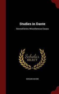 Studies in Dante