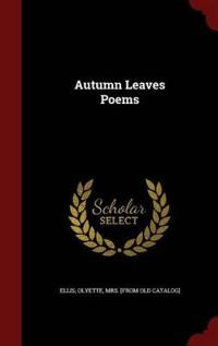 Autumn Leaves Poems