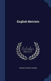 English Metrists