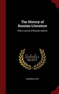 The History of Russian Literature
