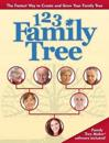 1-2-3 Family Tree: The Fastest Way to Create and Grow Your Family Tree [With CDROM and DVD]