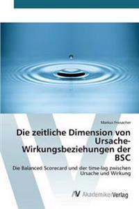 Die Zeitliche Dimension Von Ursache-Wirkungsbeziehungen Der BSC