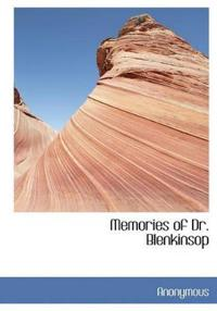 Memories of Dr. Blenkinsop