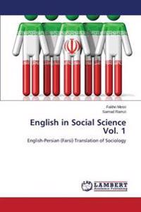 English in Social Science Vol. 1