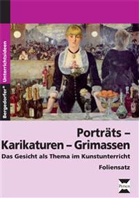 Porträts - Karikaturen - Grimassen - Foliensatz