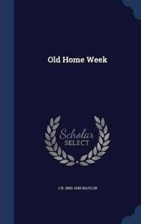 Old Home Week