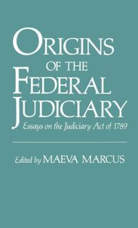 Origins of the Federal Judiciary