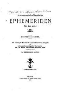 Astronomisch-Nautische Ephemeriden (1891)