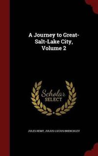 A Journey to Great-Salt-Lake City, Volume 2