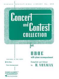 Concert and Contest Collection for Oboe: Solo Book