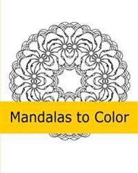 Mandalas to Color 2
