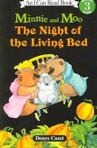 Minnie and Moo the Night of the Living Bed (4 Paperback/1 CD) [With 4 Paperback Books]