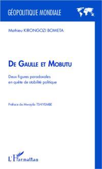 De Gaule et Mobutures paradoxales en quete de st