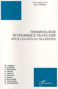 Terminologie economique francaise