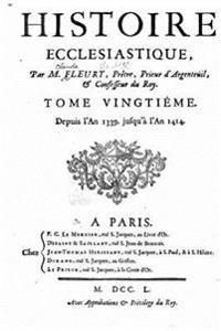 Histoire Ecclesiastique - Tome Xxeme