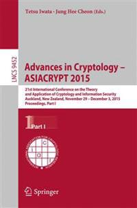 Advances in Cryptology -- ASIACRYPT 2015