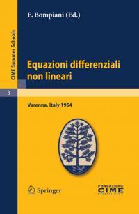 Equazioni differenziali non lineari