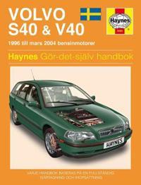 Volvo S40 & V40 Service and Repair Manual