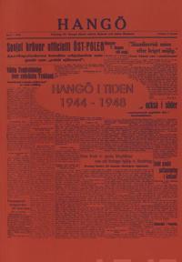 Hangö i tiden 1944-1948