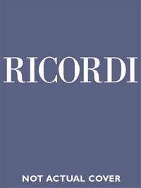 L'Italiana in Algeri: Vocal Score Critical Edition
