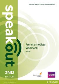 Speakout Pre-Intermediate 2nd Edition Workbook with Key