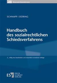 Handbuch des sozialrechtlichen Schiedsverfahrens