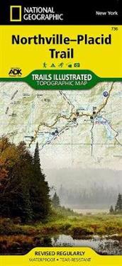 National Geographic Trails Illustrated Topographic Map Northville-Placid Trail, New York