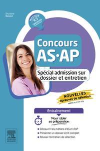 Concours AS/AP - Special admission sur dossier et entretien - Entrainement