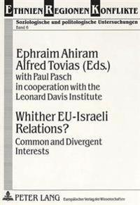 Whither Eu-Israeli