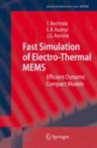 Fast Simulation of Electro-Thermal MEMS