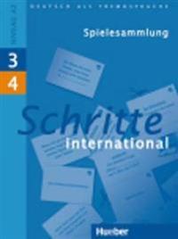 Schritte international 3+4. Spielesammlung