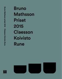 Bruno Mathsson-priset 2015: Claesson Koivisto Rune
