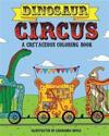 Dinosaur Circus Coloring Book