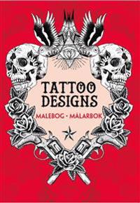 Tatto designs : malebog / målarbok