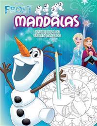 Disney FROST Mandalas : inspirerande och kreativ målarbok