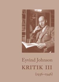 Kritik III (1936-1946)