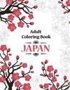 Adult Coloring Book: Japan